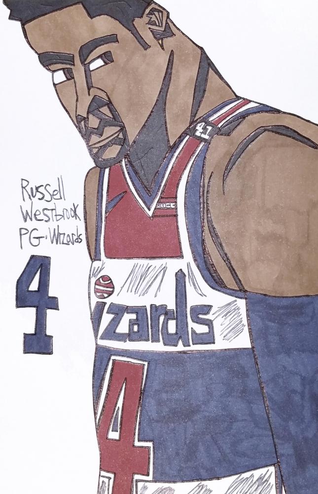 Russell Westbrook par armattock